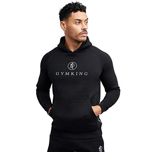 Gym King Pro Logo Hoodie - Black-M