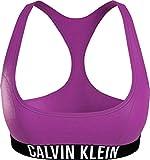 Calvin Klein Bralette-RP Parte Superiore del Bikini, Estate Fucsia, S Donna