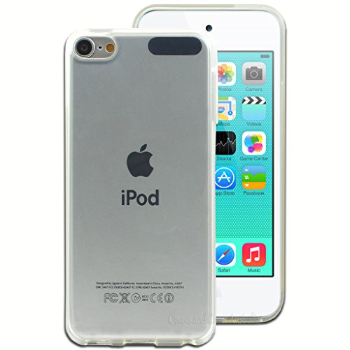 PES Perfect Soft 0.3mm Ultra Thin Transparent Clear TPU Soft Back Case Cover for Apple iPod Touch 5th Generation