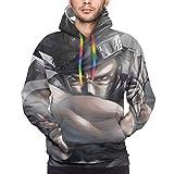 Popular Anime Naruto Zabuza Sword Men'S Long Sleeve 3d Print Lovely Sweatshirts With Pockets Shirts Hoodie Xl