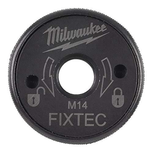 Milwaukee Tuerca de sujeción rápida XL M14 de Fixtec, para Amoladora Angular de 180 mm y 230 mm