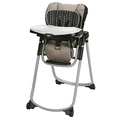Graco Slim Spaces High Chair | Compact High Chair, Amari