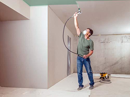 WAGNER Airless Farbsprühsystem Control 150 M für Wandfarben, Lacke, Lasuren, Holz- & Korrosionsschutz im Innen- & Außenbereich, 0-900 ml/min, 110 bar, Behältervolumen 5500 ml, Schlauch 7,5 m
