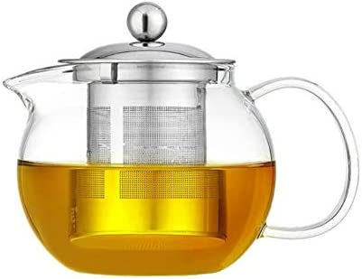 Glass Teapot SEAL limited product with Stainless Steel Borosilicate Infuser Lid OFFicial store Gl