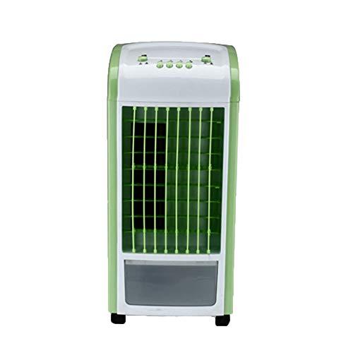 SHE.White Mini Air Cooler Mobile Klimageräte Luftkühler mit Wasserkühlung Zimmer Klimaanlage Ventilator USB Klimagerät Raumluftkühler Luftreiniger mit Fernbedienung