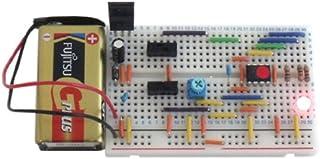 サンハヤト 小型ブレッドボードパーツセット SBS-205 LEDイルミネーションキット(フルカラーグラデーション、点滅、温度計)