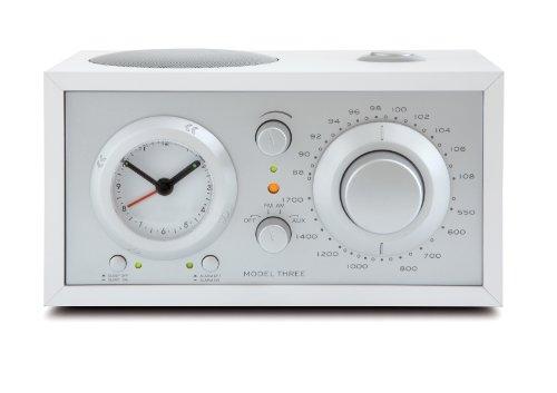 Tivoli 1065 Audio Model Three Uhrenradio weiss/silber