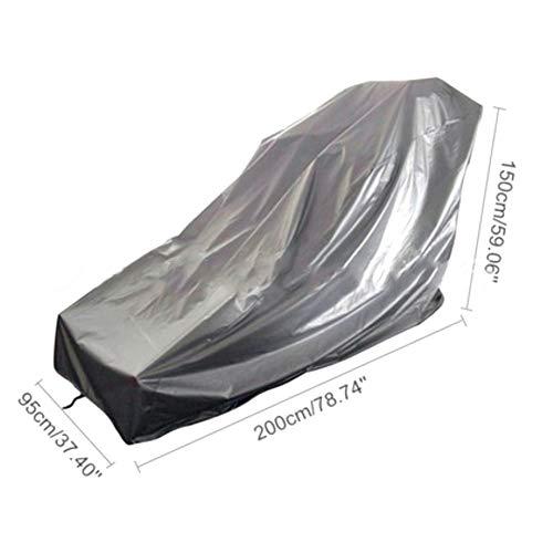 Impermeable Cubierta de La Cinta Correr a Prueba Polvo Tela Oxford Deportes Corriendo Máquina Cubierta Protectora, 2 Tamaños ALGFree (Color : Silver, Size : 95x110x160cm)
