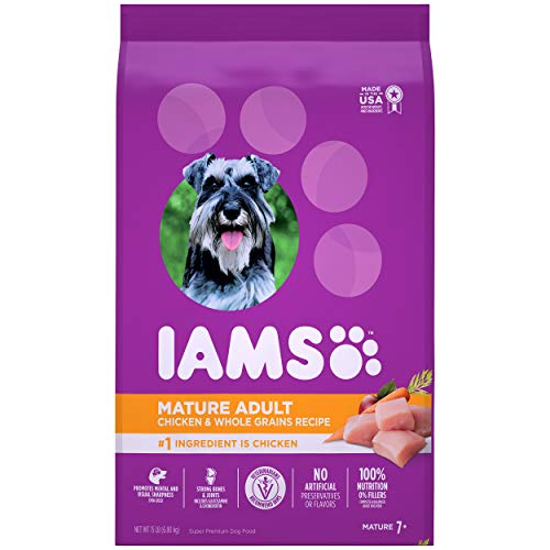 IAMS PROACTIVE HEALTH Small & Toy Breed Senior Dry Dog Food for Pugs