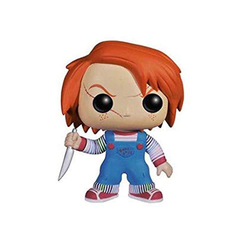 ZEwe Pop Chucky Jeu d'enfant Mini Q Version 3.9inches Action Collection PVC Figure EP PVC