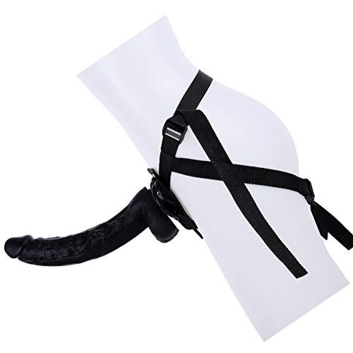 LUGLQA 29cm / 11.41'Tapón de Adulto a Prueba de Agua con tapón de Impermeable Negro portátil para Hombres para Mujer LNQJYJ0130L