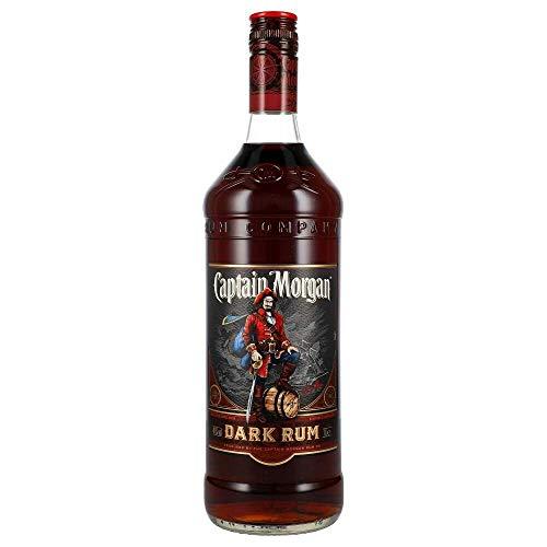 Captain Morgan Dark Rum - 1000 ml