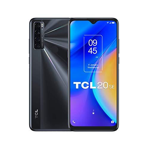 """TCL 20 SE - Smartphone de 6.82"""" HD+ con NXTVISION (Qualcomm 460, 4G, 4GB/64GB Am"""