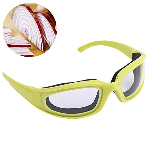 Jarchii Goggle, Occhiali da Taglio per cipolle, 5,6 * 1,7 * 4,8