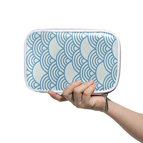 FAJRO Make-up-Tasche mit großer Kapazität, für Stifte, Baby Blue Fairy Cloud Office College Girl Erwachsene, große Aufbewahrung.