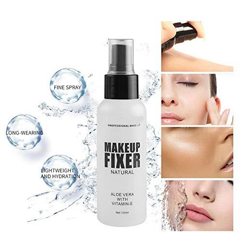 youfenghui Makeup Fixierspray Revolution, Mattes Facial Makeup Setting Spray Mist Langlebige Wasserfest Ölkontrolle Feuchtigkeitsspendend für Trockene Fettige Empfindliche Haut (100ml)