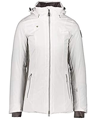 Obermeyer Womens Siren Jacket, White, 8P