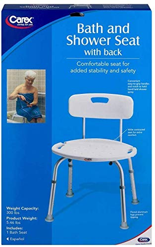 carex health brands shower chairs Carex Health Brands FGB65100 13.5