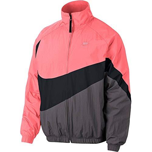 Nike Mens NSW Large Swoosh Windbreaker Woven Jacket AR3132-668 Size M