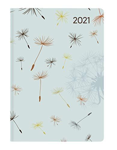 Ladytimer Mini Blowballs 2021 - Taschen-Kalender 8x11,5 cm - Pusteblumen - Weekly - 144 Seiten - Notiz-Buch - Alpha Edition