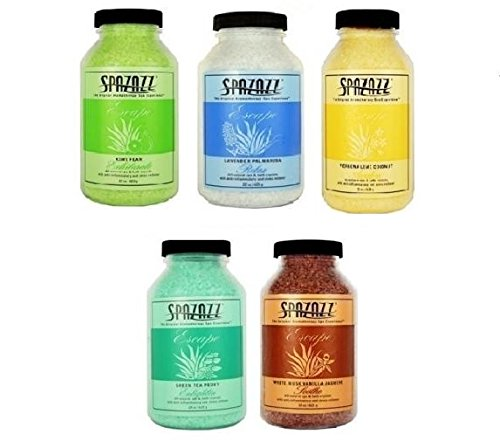 Spazazz 22 oz Spa and Bath Aromatherapy Crystals - 5 Pack