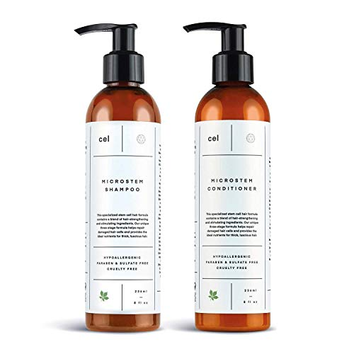 Cel MD Microstem Hair Growth Shampoo and Conditioner Set Review