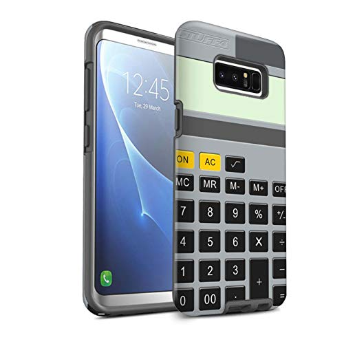 eSwish telefoonhoesje/over/Skin/SG-3DTBM / sleutels/knoppen collectie Samsung Galaxy Note 8/N950 Rekenmachine