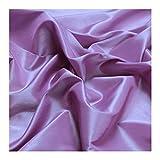 Stoff am Stück Stoff Polyester Kleidertaft flieder Taft