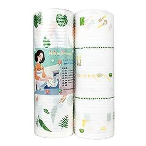 PandS ふきん 使い捨て キッチンタオル ダスター カウンタークロス 雑巾布巾 食器洗い コットン強い吸水 速乾(2個)