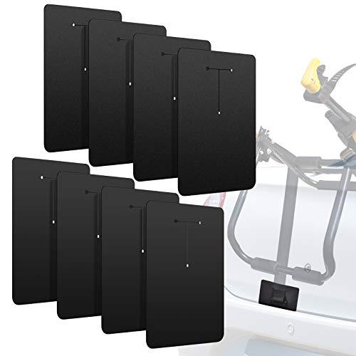 Ubenic 8 Packs Car Scratch Protectors for Trunk Bike Rack, Bike Rack Protection Pads, Bike Rack Scratch Protector, Bike Rack Paint Protector, Bike Car Anti-Scratch Accessory
