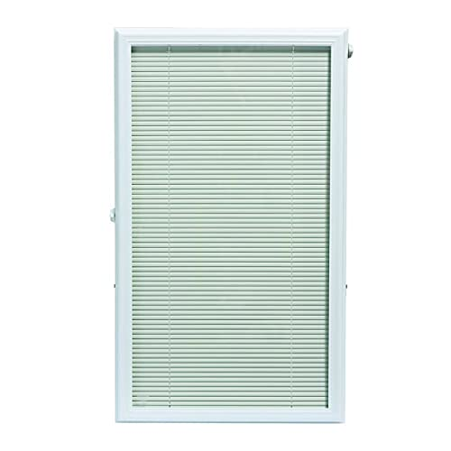 ODL Add On Blinds for Raised Frame Doors - Outer Frame Measurement 22' x 38' - Home Improvement - Easy to Install, Use and Maintain - Innovative Window Shades in-Between The Glass Panels