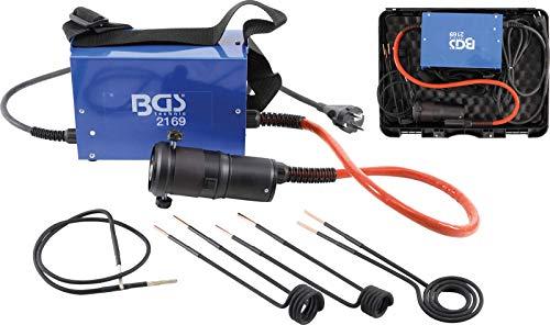 BGS 2169 | 1,5 kW Induktions-Erhitzer/Induktionsheizer inkl. 4 Spulen Induktionsheizgerät