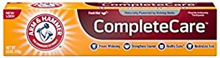ARM & HAMMER Complete Care Fluoride Anticavity Toothpaste, Fresh Mint 6 oz