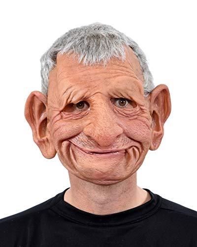Zagone Studios Men's Super Soft Latex Papa Mask, Tan, one Size fits Most