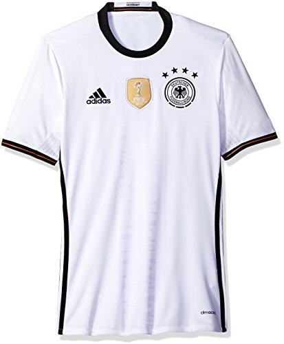 Adidas International Soccer Germany Men's Jersey, X-Large, White/Black