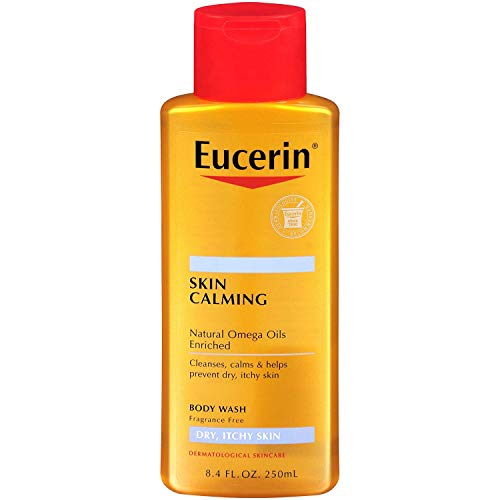 Eucerin Skin Calming Dry Itchy Skin Body Wash 8.40 oz (Pack of 2)