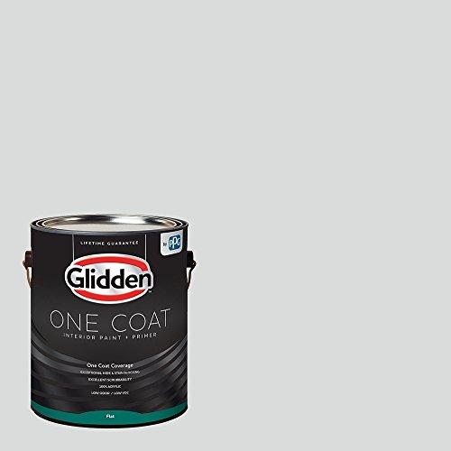 Glidden Interior Paint + Primer: Gray/Thin Ice, One Coat,...