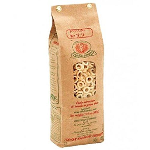 Rustichella d'Abruzzo Durum Wheat Anellini Pasta - 17.6 oz (2 Pack)