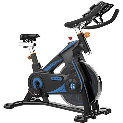 JFJL Bicicleta De Ciclismo para Interiores, Bicicleta De Ejercicios para Interiores, Bicicleta Estática con Pantalla LCD Y Cómodo Cojín De Asiento para Entrenamiento Cardiovascular En Casa