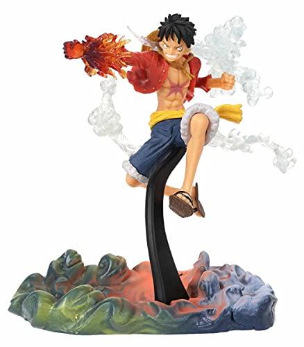 CosplayStudio One Piece Figur von Monkey D. Ruffy I Gum-Gum Attacke Sammelfigur I 17cm