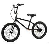Bicicleta sin Pedales Bicicleta Sin Pedales, Bicicleta de Entrenamiento con Marco de Acero al Carbono con Almohadillas de Manillar Antideslizantes y Neumáticos Llenos de Aire, Rueda de 40 cm