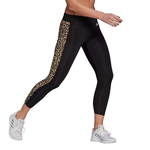 adidas GL3960 W Leo 78 TIG Leggings Donna Black/Hazy Beige XS