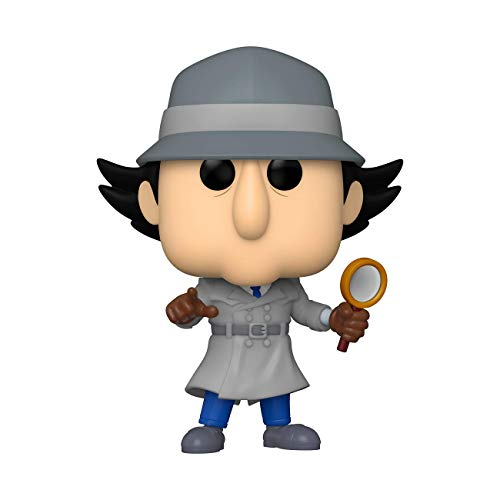 Funko 49268 POP Animation Inspector Gadget w/Chase (Styles May Vary) Sammelbares Spielzeug, Mehrfarben