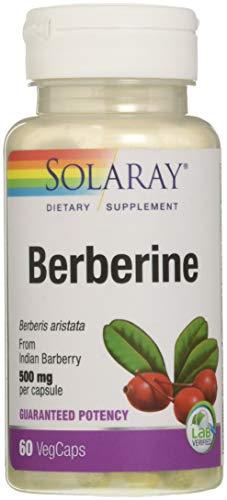 Solaray Berberine 500mg | Non-GMO | 60 Count