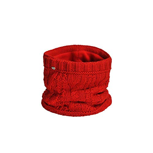 Pikeur Neckwarmer mit Zopfstrickmuster Classic Collection Herbst-Winter 2019/2020, Bright red, 1STÜCK