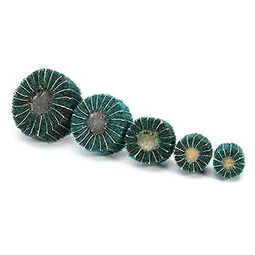 Why Choose Cvmnkljfger Multitool Sanding Kits 6mm Shank Nylon Fiber Wheel Abrasive Polishing Buffing...
