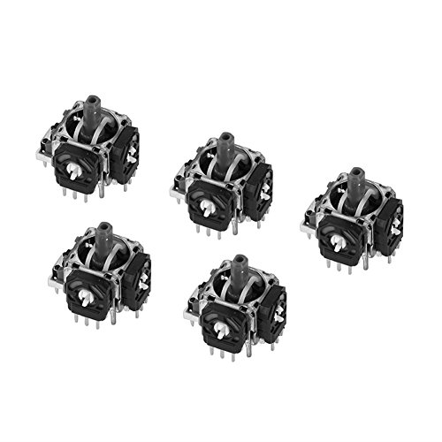 Tihebeyan 5Pcs 3D Controller Joystick Axis Analog Sensor Module Replacement Compatible with Sony Playstation 4 PS4