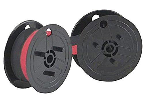 Nastro - nero-rosso - Compatibile con Ibico 1232 X come doppia bobina Compatibile con 1232X Gr.51- Marca Nastrofabrik Original