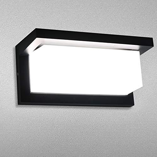 Lamker 18W Apliques de Exterior con Sensor de Movimiento Lámparas Pared LED...