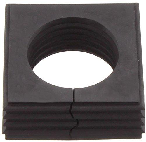 Conta-Clip 28549.4 Kabeldurchführungssystem KDSClick, Dichtelement, Montageart: Stecken, 42,8 mm, IP 66, Schwarz, KDS-DEG 28-29 BK, 10 Stück